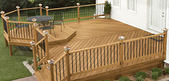 Backyard Deck Installation